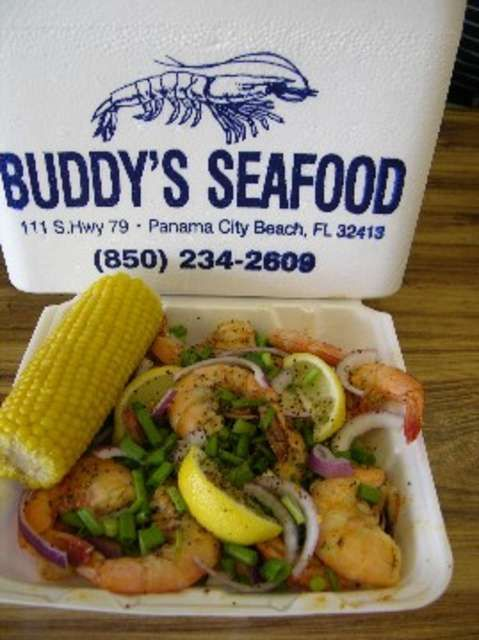 Buddy's Seafood Market...my favorite in PCB!
