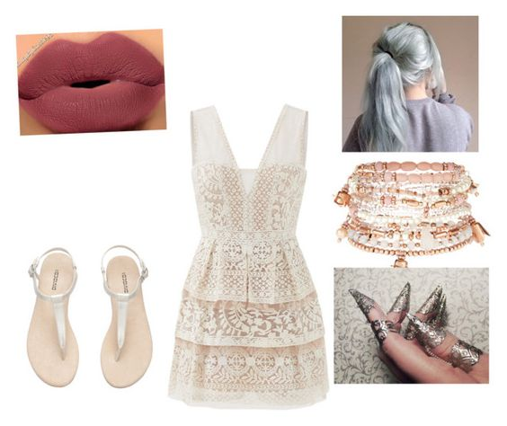 """""""Freak out"""" by emeraldtomi on Polyvore featuring BCBGMAXAZRIA and Accessorize"""