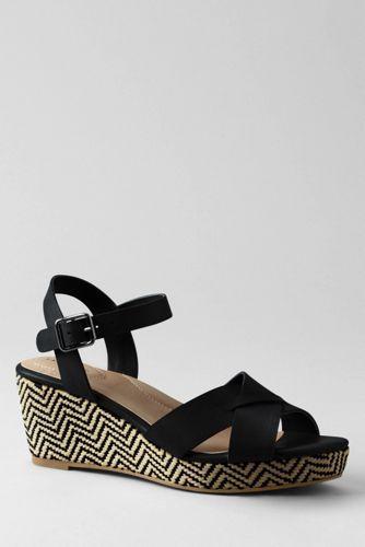 Women's+Sydney+Flatform+Sandals+from+Lands'+End