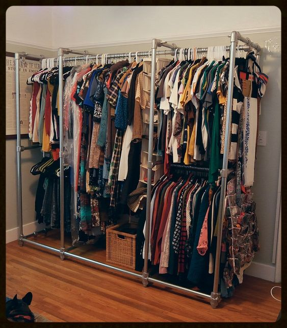 Pipe Closet, Metal Pipe And Pipes On Pinterest