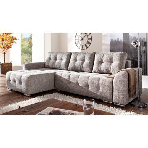 Delray Corner Sofa Bed Mercury Row Orientation Left In 2020 Corner Sofa Sofa Bed Corner Sofa Bed