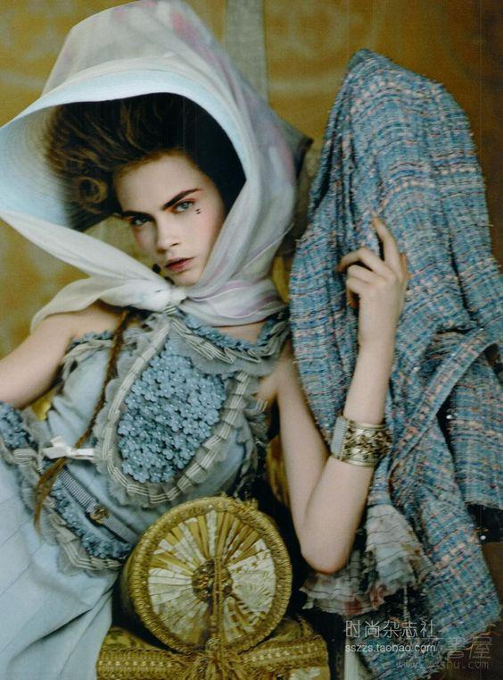 me &myCastle: Anna Karenina Style Icon &cHANEL - for SS2013