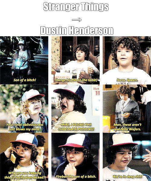 Stranger Things⚠️ | Dustin Henderson