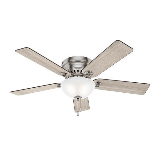 Hunter Glen Rose 52 In Led Indoor Ceiling Fan At Menards
