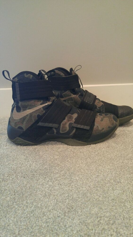 sale retailer b71a2 cd40d Nike LeBron Soldier 10 Size 12 hardly worn! #fashion ...