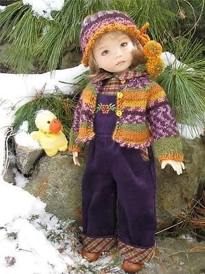 """Just Ducky Overalls by Tuula Fits 13"""" Effner Little Darling to A """"T""""   eBay. Ends 3/6/14. Sold for $172.50"""