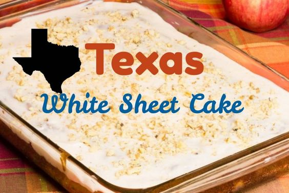 Texas Sheet Cake With White Cake Box Mix