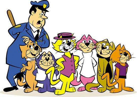 TOP CAT!!! Igual lá da CASA!!!