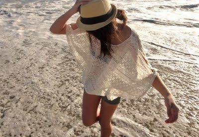 Na praia assim… que bela. <3