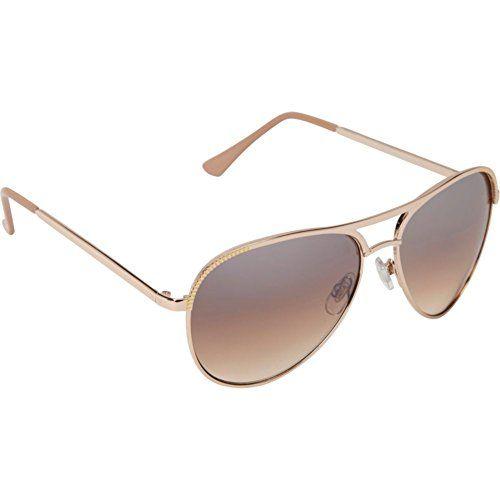Jessica Simpson Sunwear Aviator Sunglasses