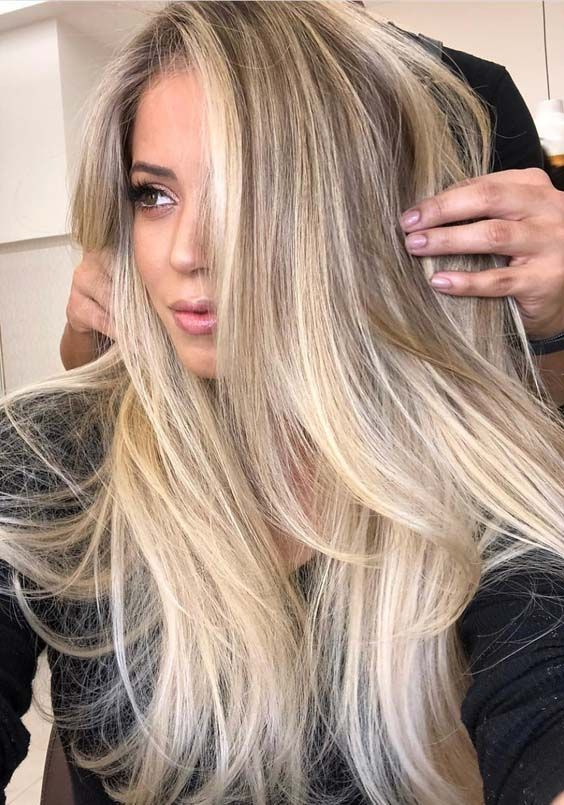 Pretty Color Blonde Follow P I N T E R E S T Longlostjewelry Long Hair Color Hair Styles Long Hair Styles