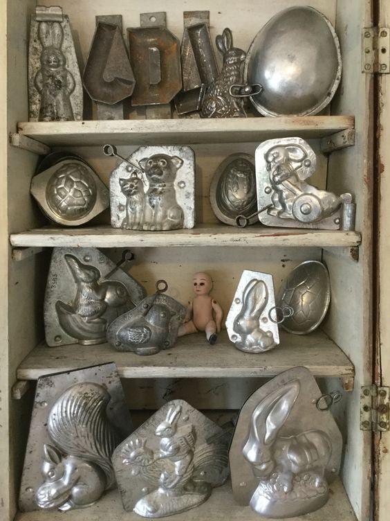 Antike Schokoladenformen
