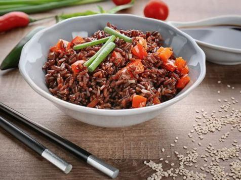 6 Macam Resep Olahan Beras Merah Yang Enak Cocok Untuk Diet Resep Resep Makanan Makanan Dan Minuman