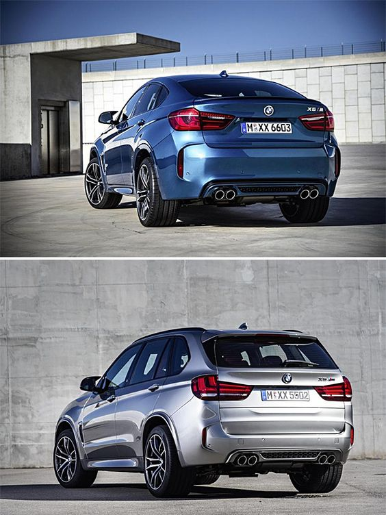 rogeriodemetrio.com: 2016 BMW X5 M and X6 M
