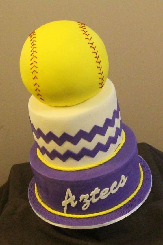 Softball cake - her favorite one