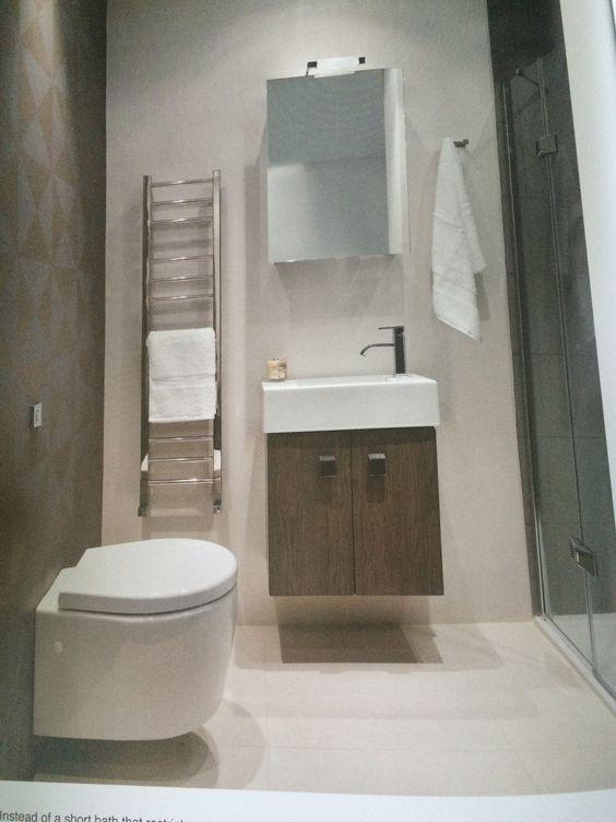 Bathroom idea - love the walk in shower!