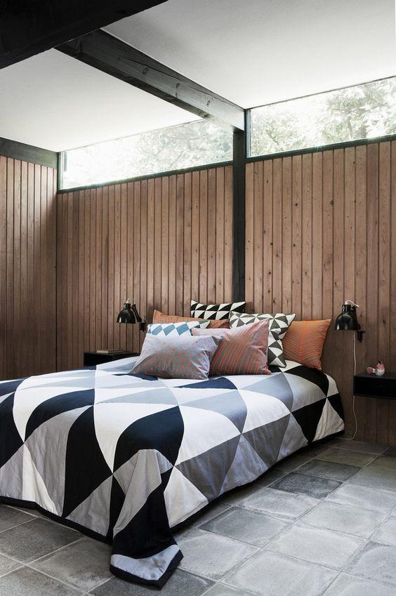 Ferm Living Shop — Herringbone Neon Cushion