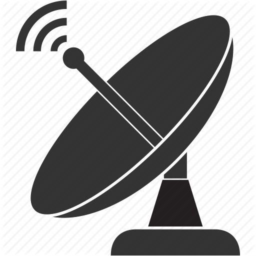 antenna communication dish satellite space icon sat