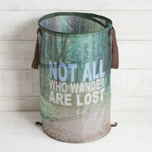 Not All Who Wander Pop Up Laundry Hamper The Kids 39 Room