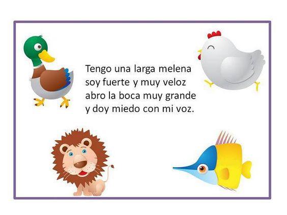 Lo escogemos porque las adivinanzas son un método magnífico para que los niños recuperen el significado de aquello que se les pregunta de forma mental