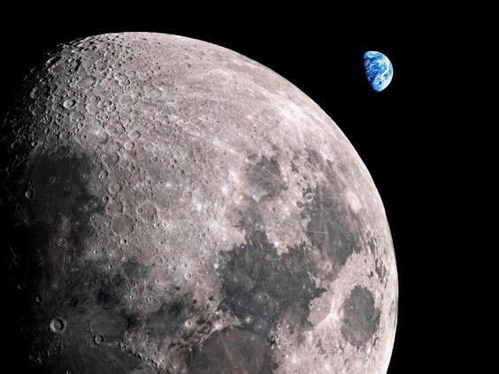 Incroyable close-up de la Lune.  Photos HD