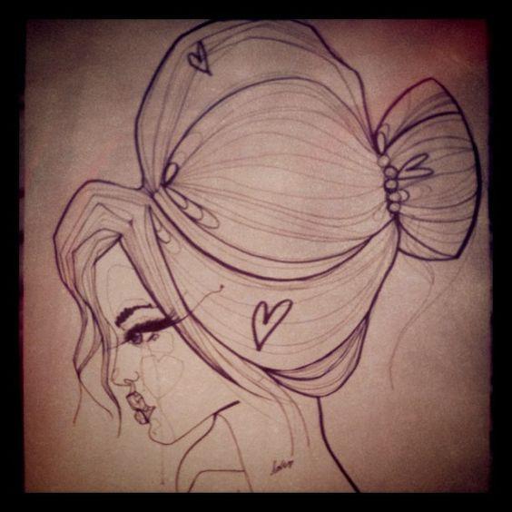  her hair is so big...it's full of secrets  #Padgram