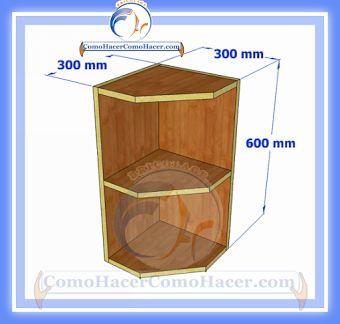 Bricolaje on pinterest for Esquineros de madera para cocina