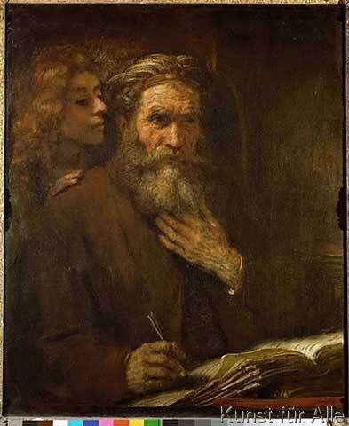 Harmensz van Rijn Rembrandt - Der Evangelist Matthäus