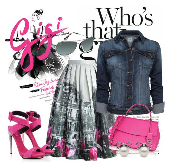 quien es? i by sebat on Polyvore featuring polyvore fashion style MANGO Chicwish Posh Girl MICHAEL Michael Kors Maui Jim clothing