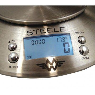 Balance inox STEELE 5Kg à 1gr My Weigh