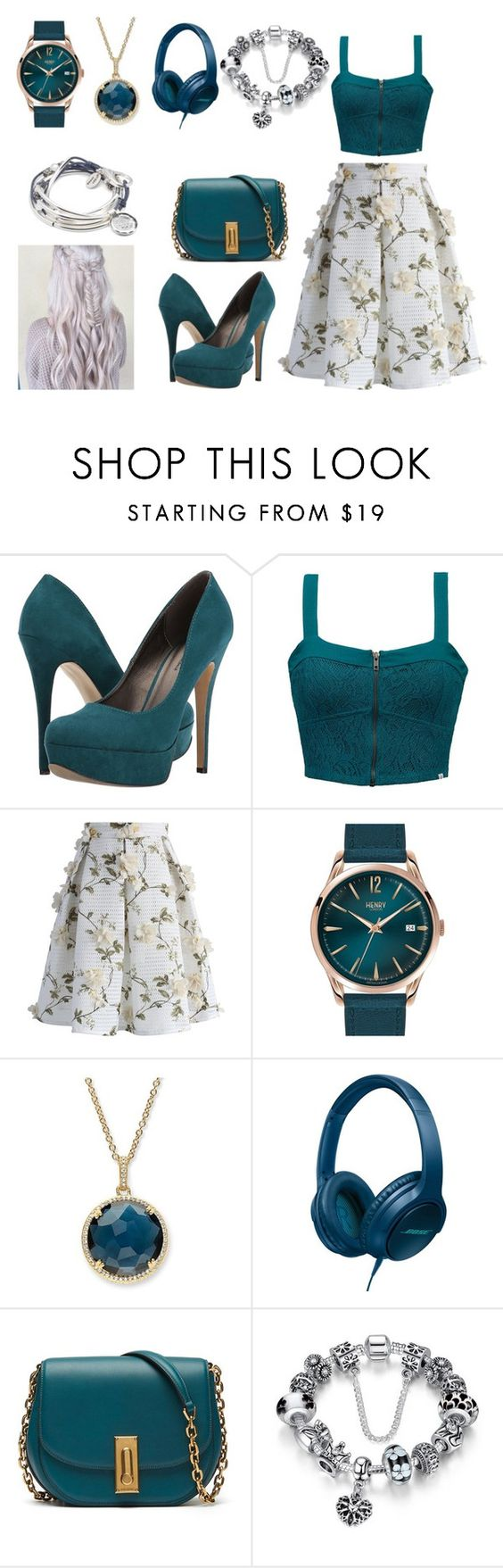 """""""Untitled #1584"""" by kirsimari ❤ liked on Polyvore featuring Michael Antonio, Element, Chicwish, Henry London, Palm Beach Jewelry, Bose and Lizzy James"""