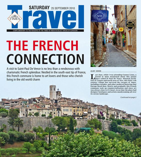 Here's a Travelogue I did on St. Paul de Vence, South of France. An interesting, quaint place...