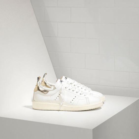 Sneakers STARTER in pelle di Vitello - G29WS631.G11 - Golden Goose