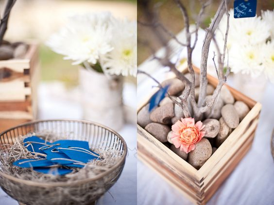 al fresco california bohemian wedding - Google Search  Guest Book Wish Tree
