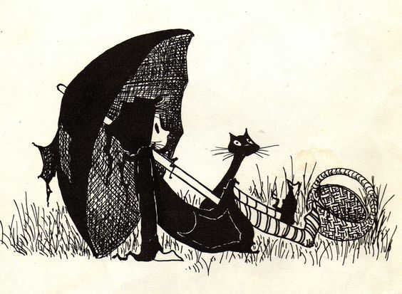 """""""This is Dorrie.  She is a witch.  A little witch.  Her room is mixed up, her socks are mixed up, and her hat is always on crooked.  Her mother is the Big Witch."""""""
