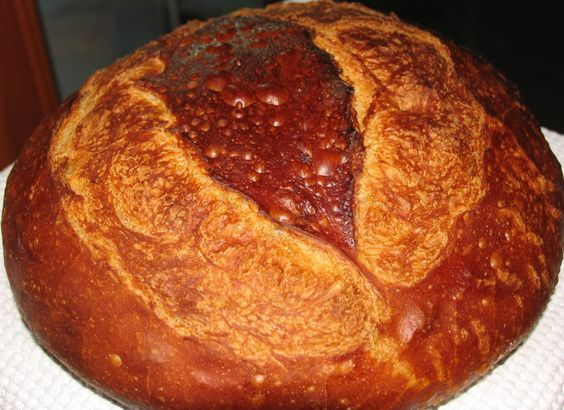 Weekend Country Bread - I'm looking forward to getting back to bread baking!