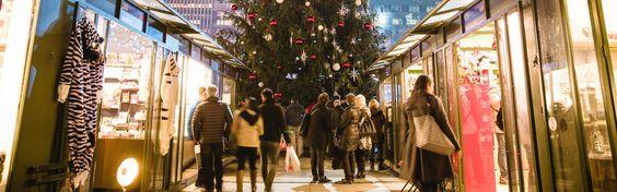 Winter Village im Bryant Park: Der lohnenswerteste Weihnachtsmarkt in New York City. Alle Tipps & Infos zum Winter Market gibts hier: