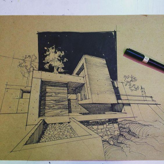 """#architecturestudent #architexture #architect #archdaily #architectural #architecturesketch #architectlover #arquitetura #arquitectura #architekture…"""