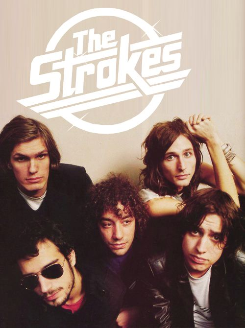 The Strokes. Such a great concert! I loved every second of it. Perfection.: