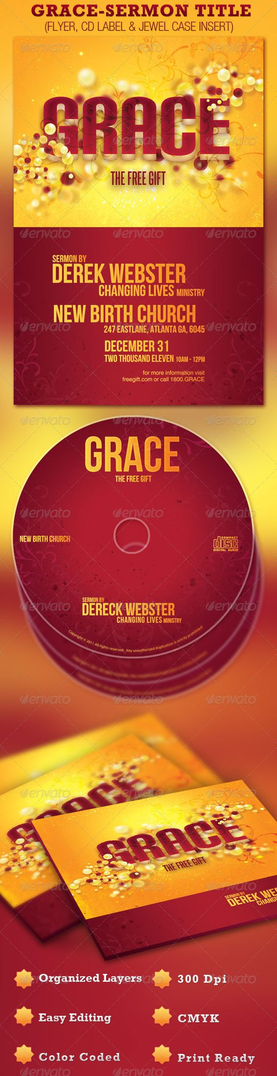 the world s catalog of ideas grace church flyer and cd template photoshop psd creative designs best flyer design