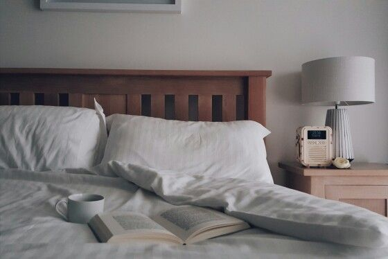 bed coffee view quest dab radio valentines