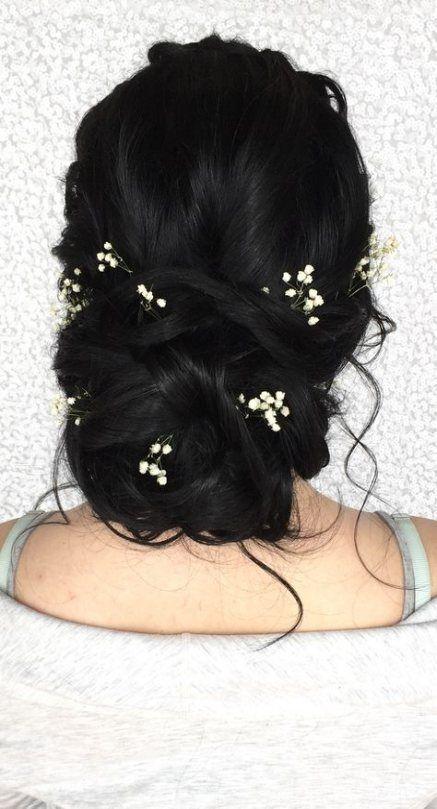 33  Ideas Hair Brunette Bun Hairdos