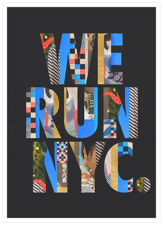 We Run NYC / Pitch / Mixed Media / 2014 on Behance