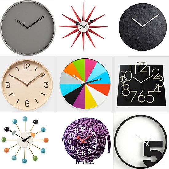 14 Wall Clocks That Make Us Tick