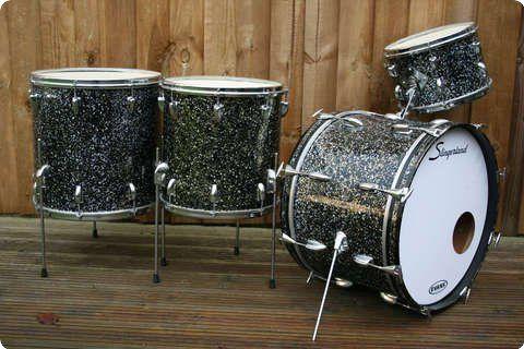 Slingerland Drum Co / Progressive Jazz / 1959 / Original Capri Pearl