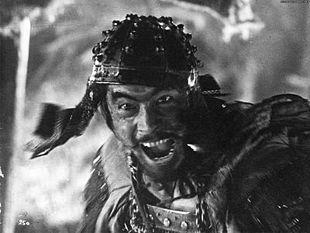 Mifune in Seven Samurai