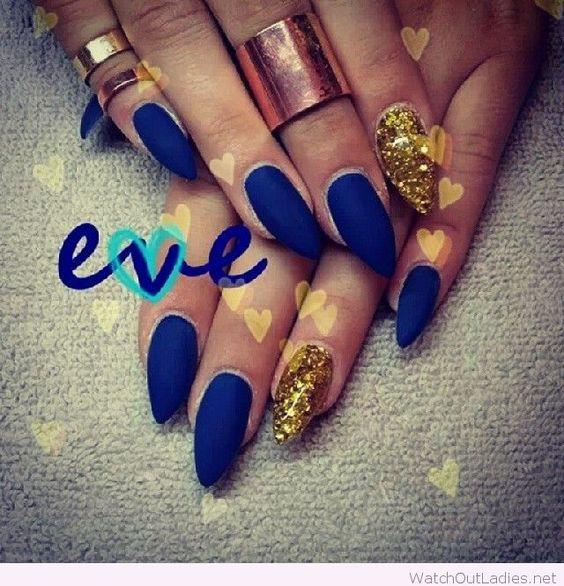 yellow matte nails - photo #27