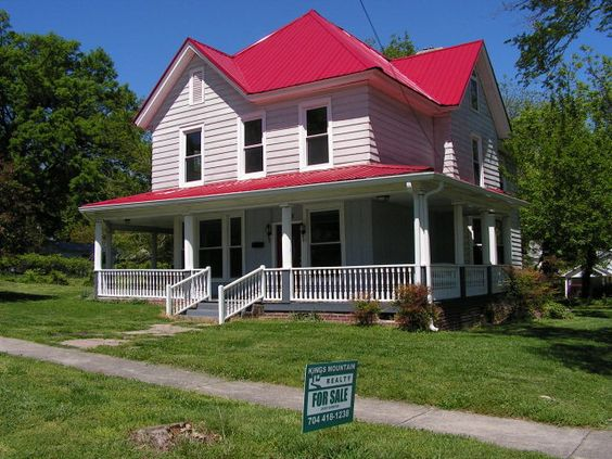 Best Red Roof House Colors And White Trim On Pinterest 400 x 300