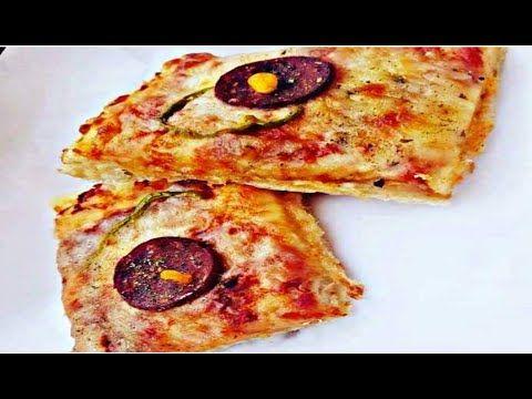 بيتزا الك ولرفقاتك طريقة تحضير بيتزا القيمرية Cheese Pizza Food Pepperoni Pizza