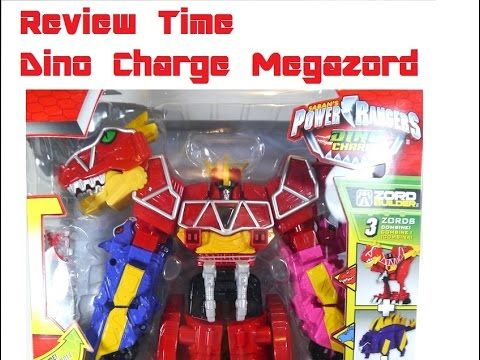 Review Time: Dino Charge Megazord ( Kyoryuzin)